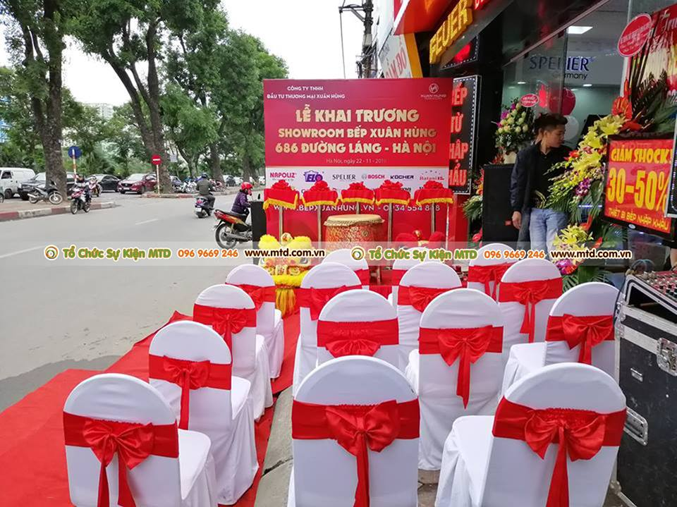 MTD Event tổ chức sự kiện khai trương Bếp Xuân Hùng