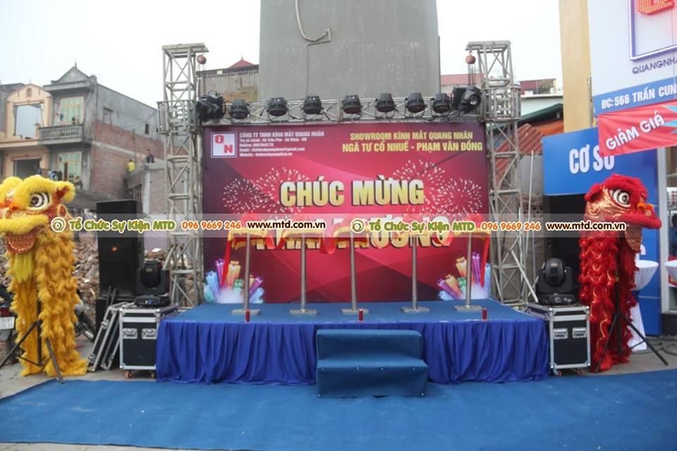 Khai trương Showroom Kính Mắt Quang Nhãn - 556 Trần Cung