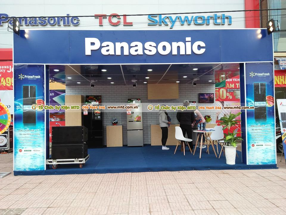 MTD Event đồng hành cùng Pico giới thiệu sản phẩm Panasonic