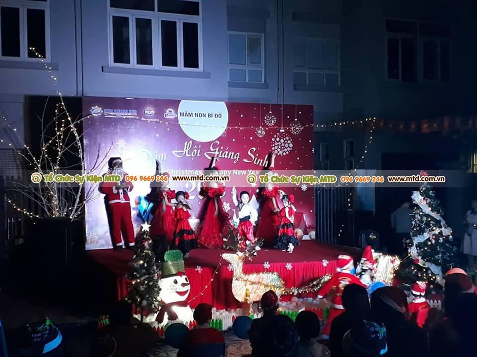 MTD Event tổ chức buổi lễ giáng sinh tại trường mầm non bí đỏ