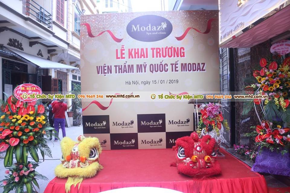 MTD Events tổ chức lễ khai trương Modaz Spa and Clinic