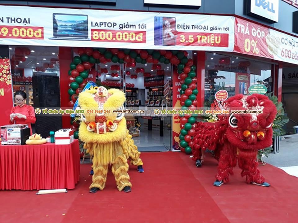 Lễ khai trương FPTshop Trần Quốc Hoàn tổ chức bởi MTD