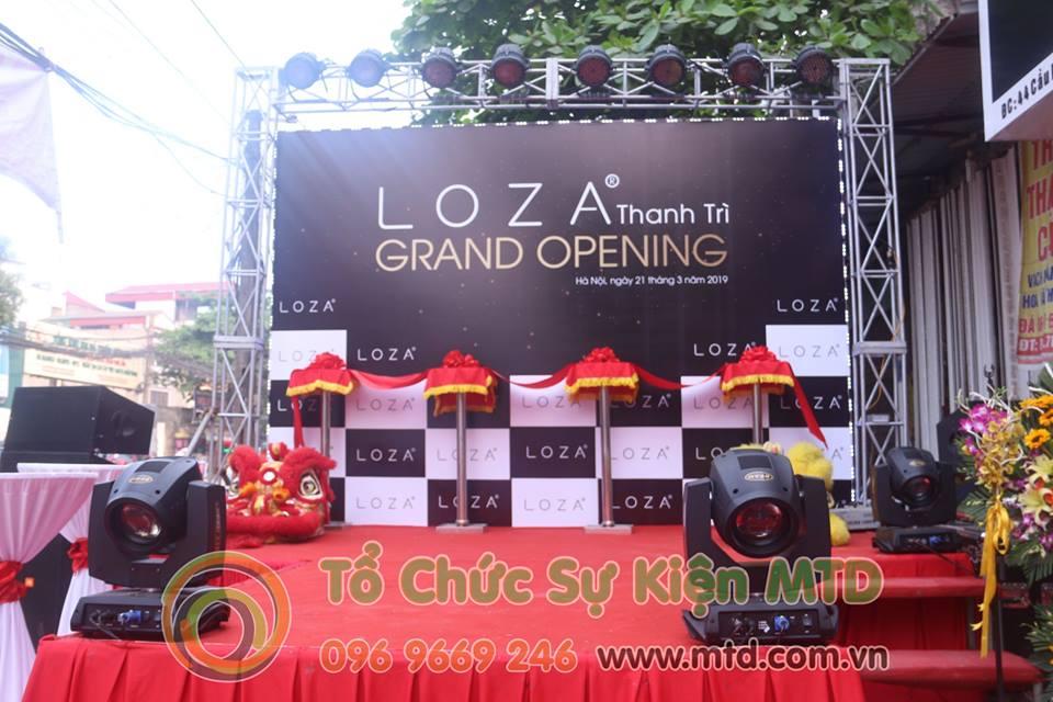 Chùm ảnh lễ khai trương Loza Fashion - Thanh Trì - MTD Events