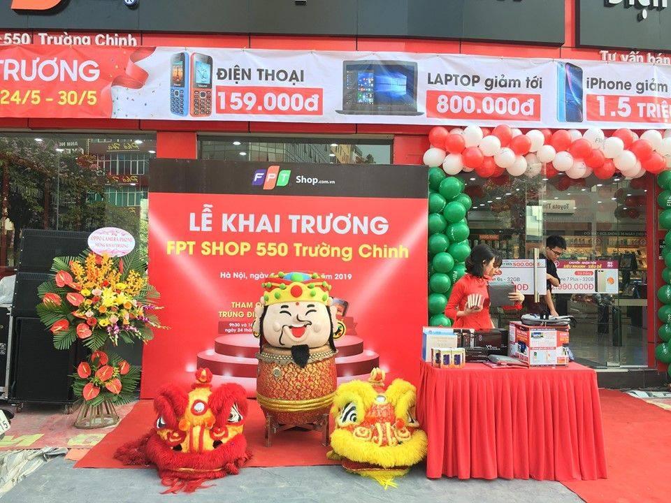 Chùm ảnh lễ khai trương FPTshop Trường Chinh tổ chức bởi MTD Events