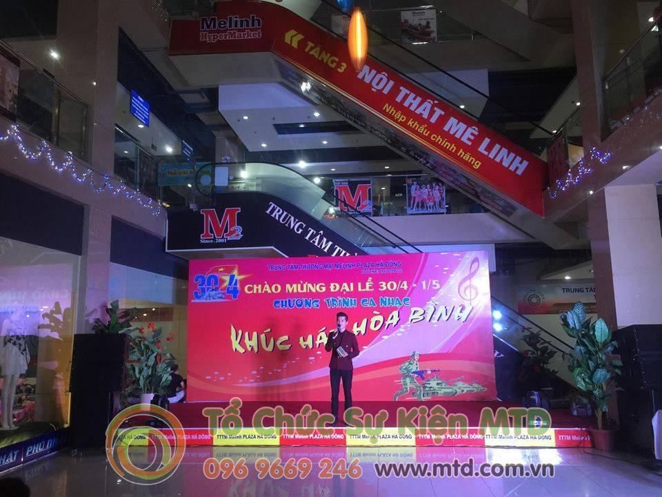 Khúc Hát Hòa Bình tại Melinh PLAZA Hà Đông tổ chức bởi MTD Events