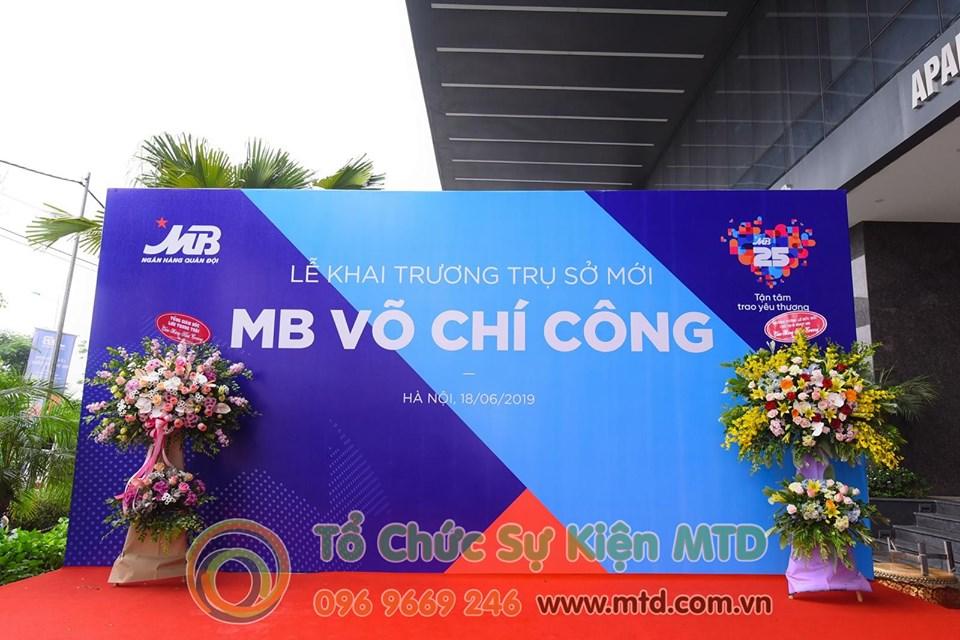 Lễ khai trương trụ sở mới MB Võ Chí Công - MTD Events
