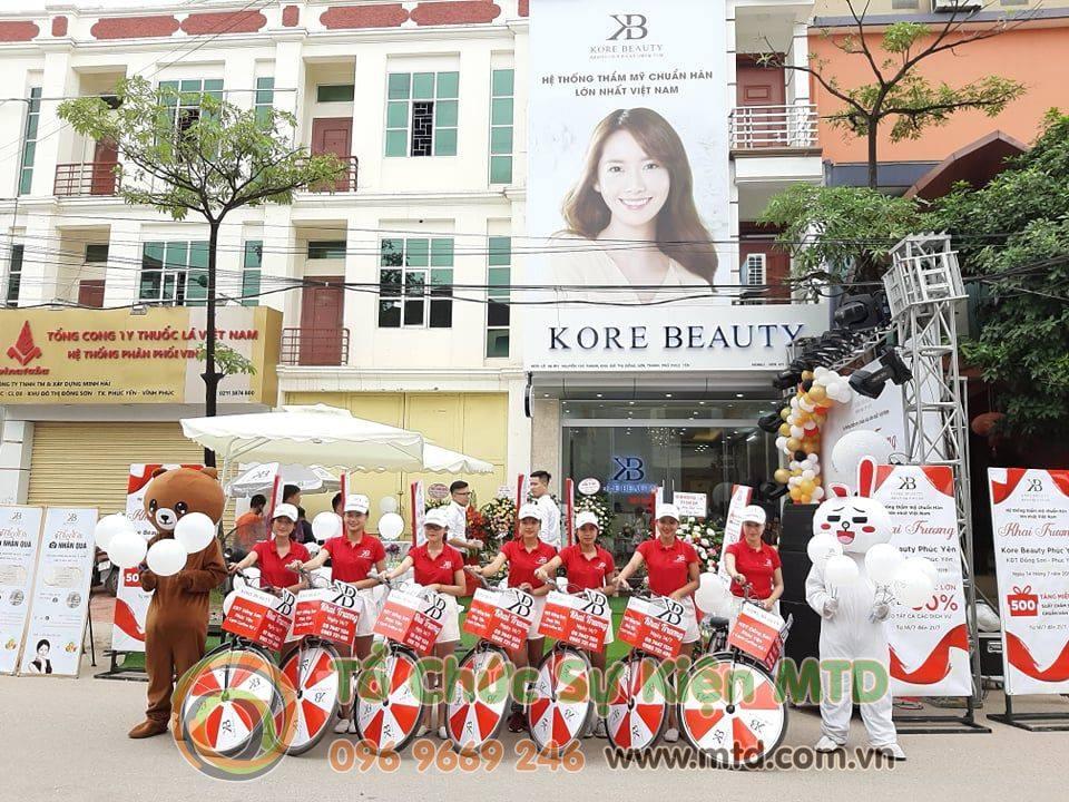 Chùm ảnh sự kiện Roadshow khai trương Kore Beauty Vĩnh Phúc