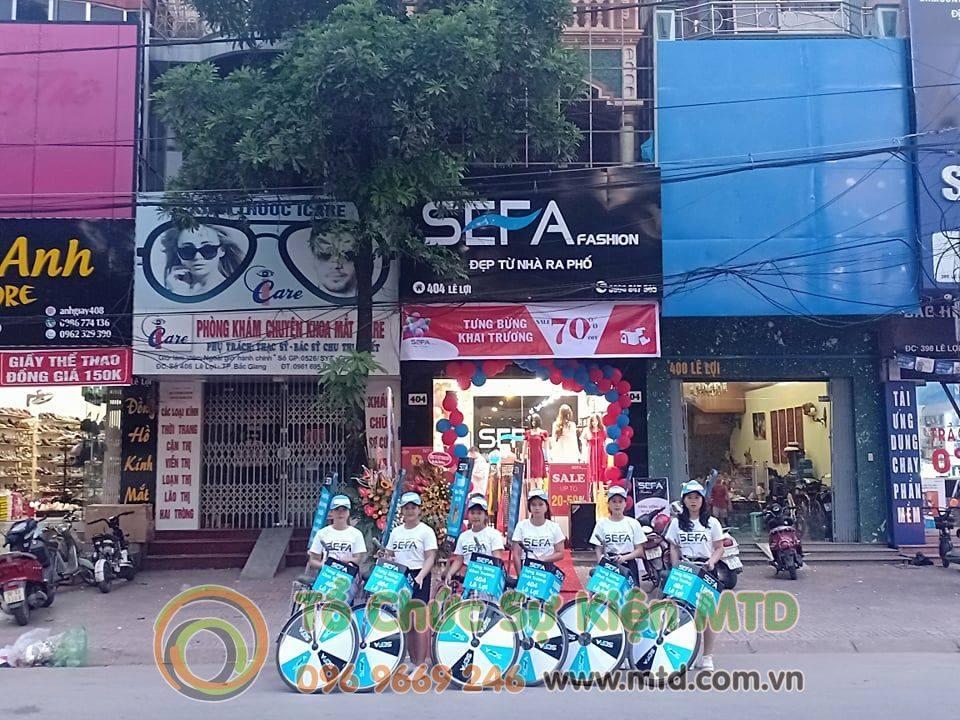 Roadshow khai trương SEFA Bắc Giang - Tổ chức sự kiện MTD